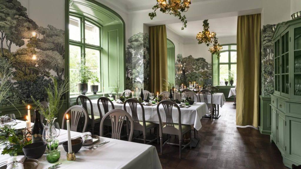 Skog - slottets matsal